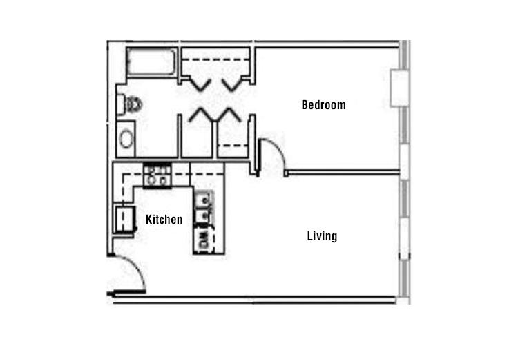 Standard 1 Bedroom